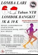 Lomba Lari 60 Tahun NTB – Lombok Bangkit • 2018
