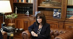 Τον αρχηγό της Ελληνικής Αστυνομίας, αντιστράτηγο Μιχαήλ Καραμαλάκη, υποδέχτηκε η Πρόεδρος της Δημοκρατίας, Κατερίνα Σακελλαροπούλου, νωρίτε...