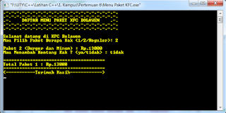 Screenshot Run Program 4