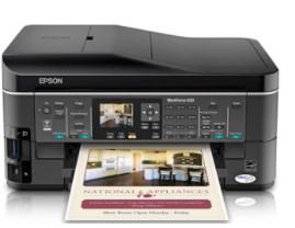 Epson WorkForce 633 Pilote d'imprimante gratuit