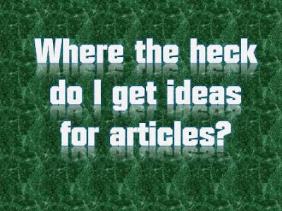 How to get ideas for writing articles? - A Guest Post by Traci Lawrence for BloggingFunda