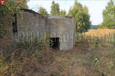 Второй польский бункер у деревни Набережная