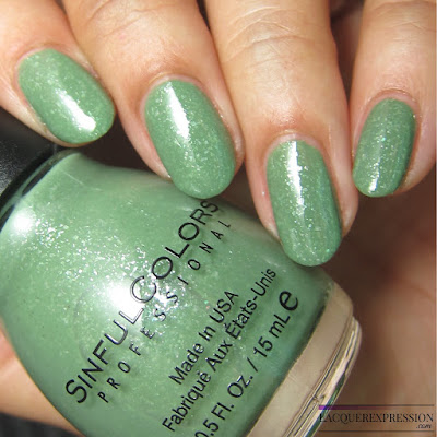 nail polish swatch of Super Cooper by Sinful Colors sinfulcolors