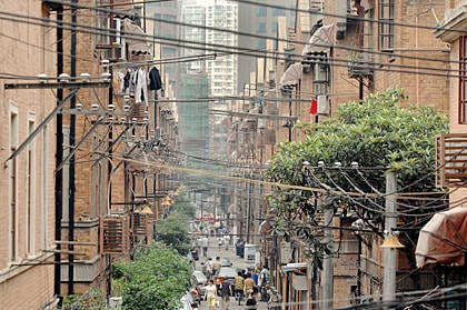 A Shanghai Lontang Area