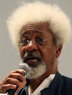 Nobel prize winner Prof wole Soyinka on green card