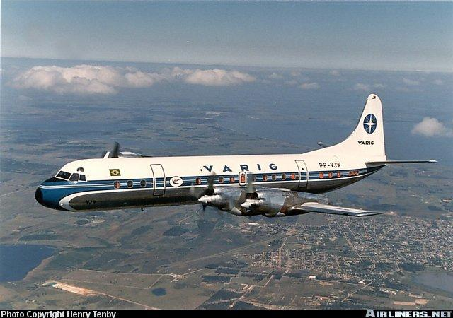 AEROMARANHAO: Lockheed Electra II - Eterno Rei da Ponte Aérea Rio - São Paulo