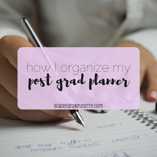 Why the Plum Planner is the PERFECT planner for college, graduate school, internships, and work! Plus, use my code for 10% off your next Plum Paper Planner!! | brazenandbrunette.com