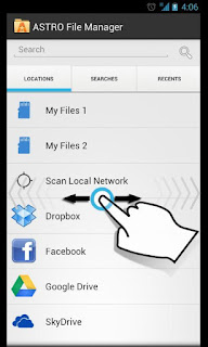 ASTRO File Manager with Clouds for Android