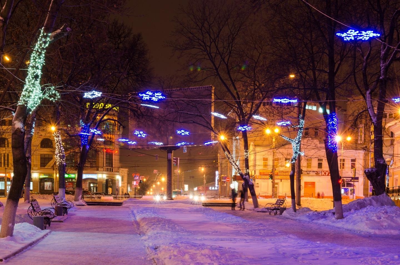 Вечернее Иваново.