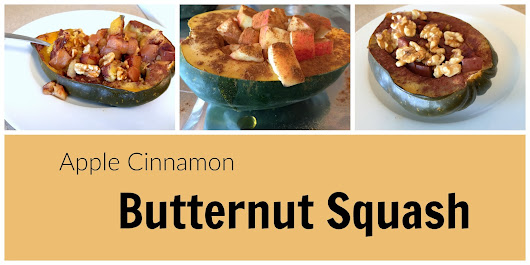 Apple Cinnamon Butternut Squash