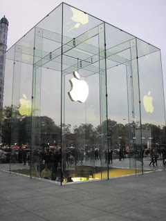Fifth Avenue Apple Store.