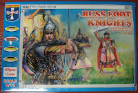 Russ foot knight (Druzhina), Orion 72031, scale 1/72