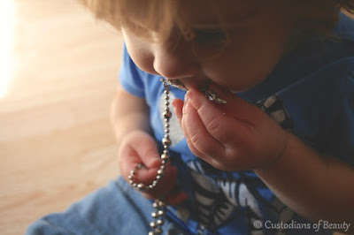 The Feast of Our Lady of the Rosary | by CustodiansofBeauty.blogspot.com