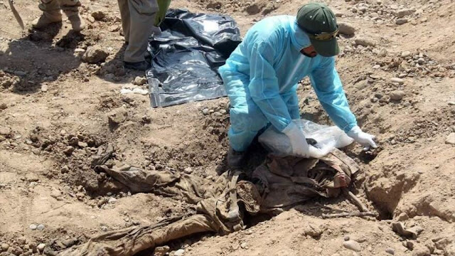 Equipo de ONU halla 12 fosas comunes con víctimas de Daesh en Irak