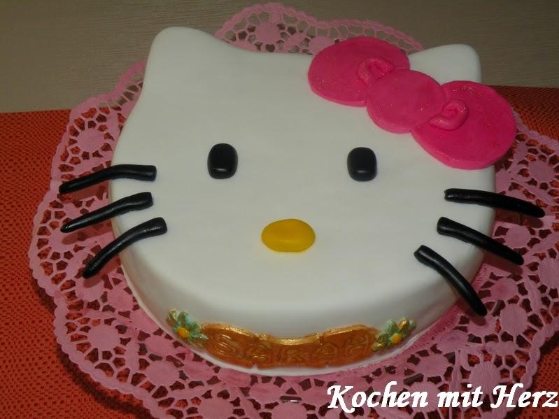 Kochen Mit Herz Hello Kitty Torte