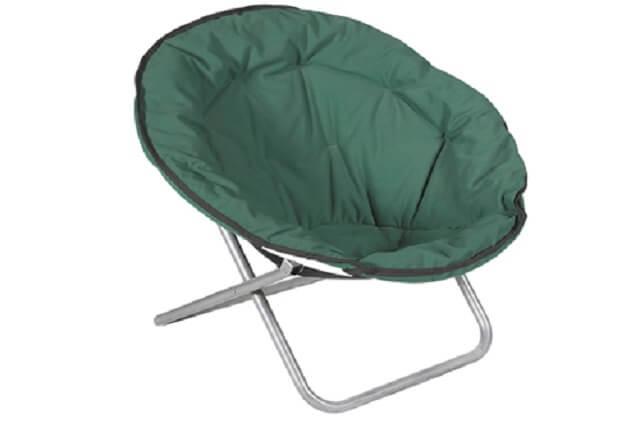 Katlanabilir yuvarlak sandalye