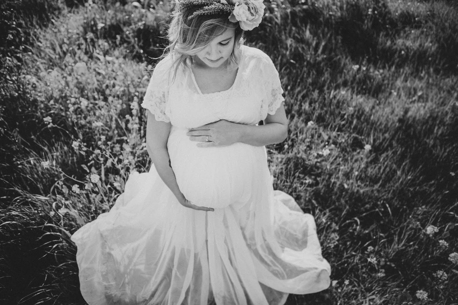spring maternity pictures