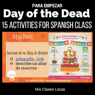 15 Activities for the Day of the Dead in Spanish Class