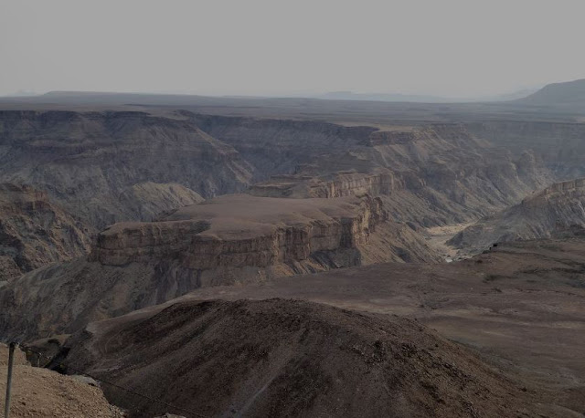 panorama dal belvedere del Fish River Canyon