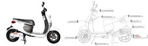 Harga dan Spesifikasi motor listrik Viar Q1
