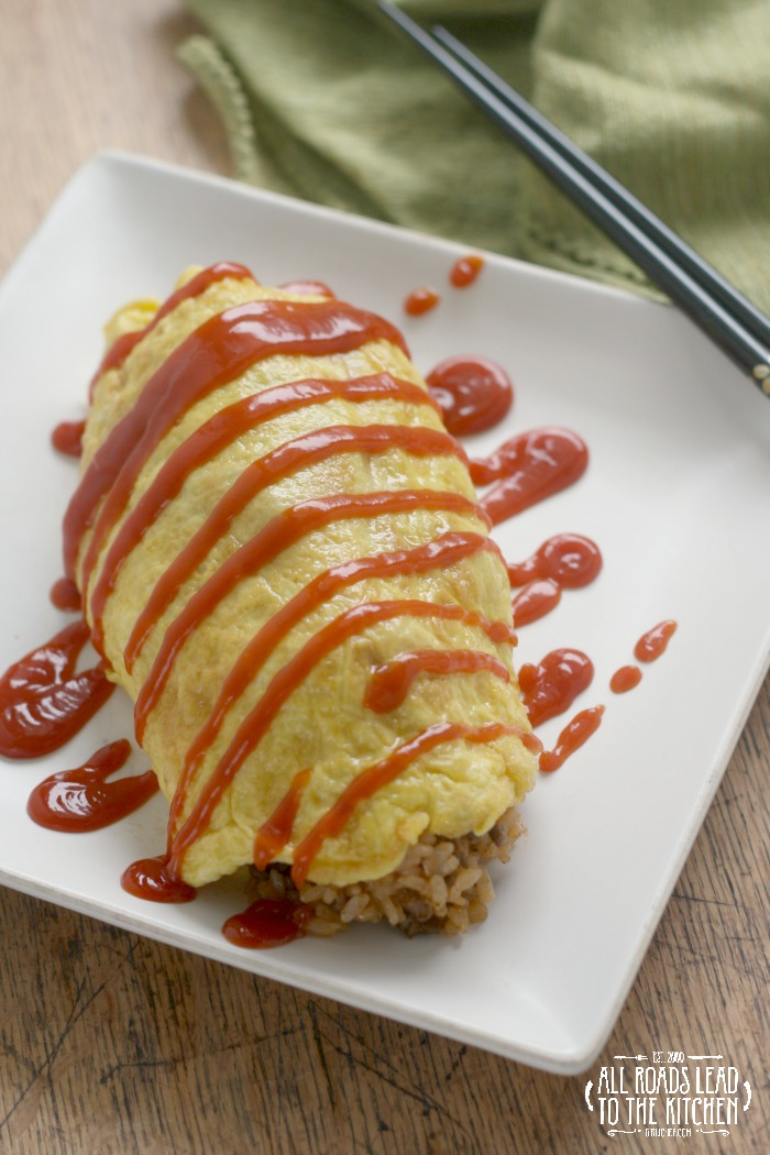 Omurice (Japanese Rice Omelet) inspired by Tampopo | #FoodnFlix | All ...