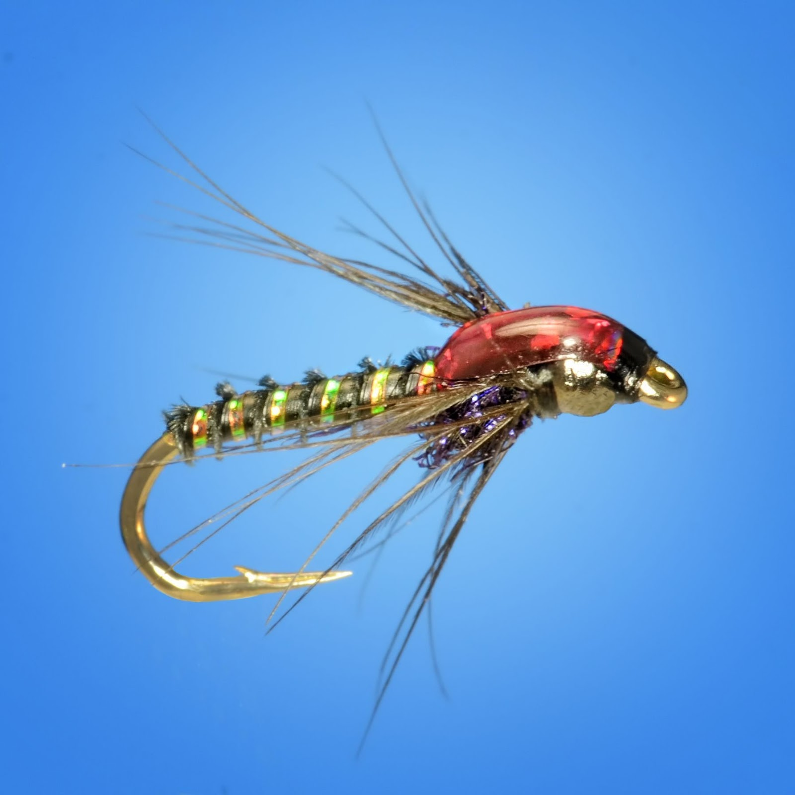 Nymph pattern tutorials fly fish food fly tying and for Fly fishing nymphs