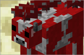 Minecraft Mooshroom Figures
