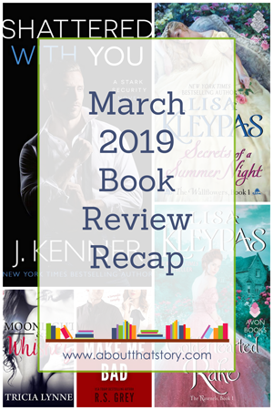 March 2019 Book Review Recap | About That Story