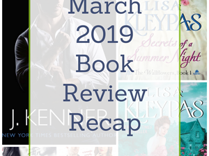 March 2019 Book Review Recap