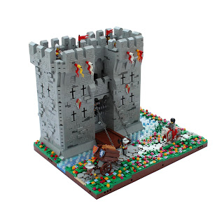 Woodstock Castle Lego Gatehouse