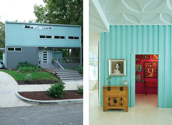 2000 sq ft Shipping Container House, Kansas City, Missouri 19