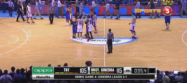 Ginebra eliminates TNT, 115-105 (REPLAY VIDEO) Semis Game 4 / October 8