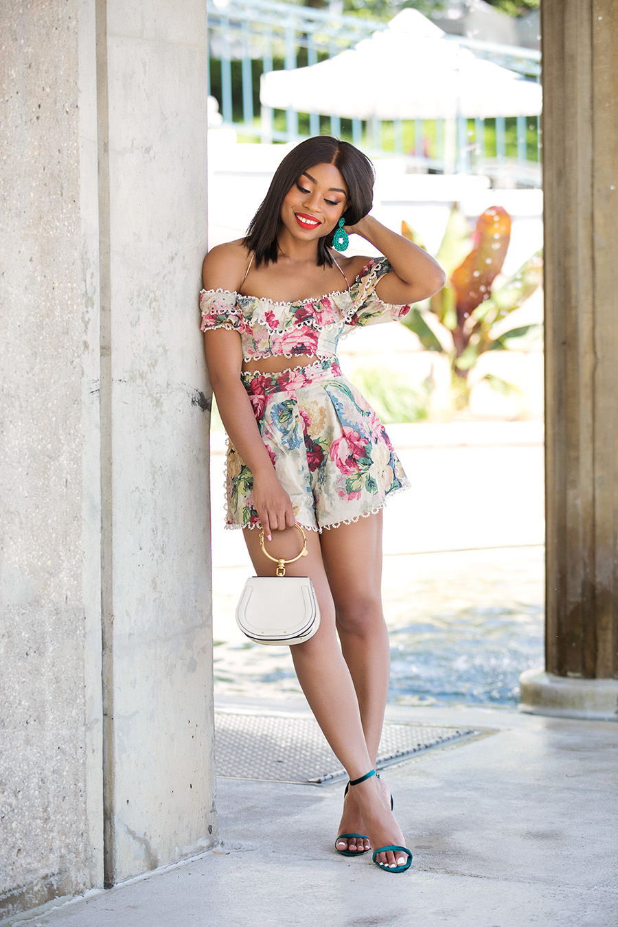 zimmermann floral matching set, www.jadore-fashion.com