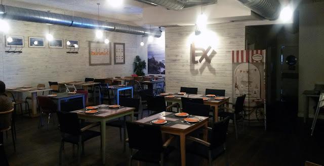 Comedor de c/ Ibiza_restaurante txirimiri Madrid
