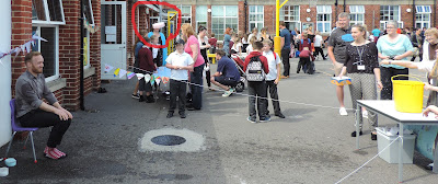 school summer fayre soak the teacher fun