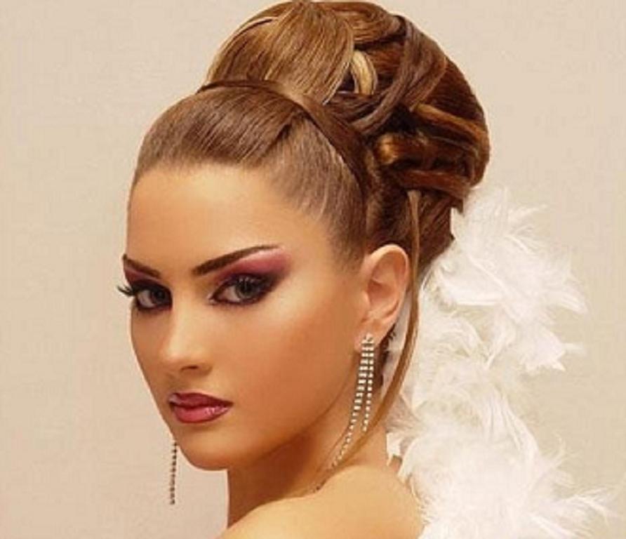 Peinados Trenza Peinados Para El Vestido De Noche 2013