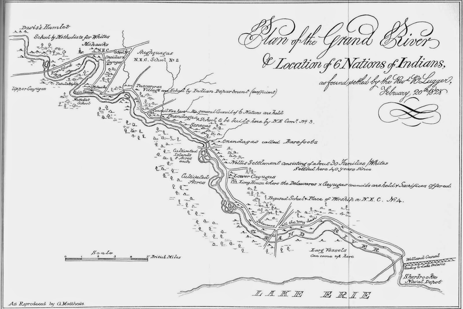 grand river settlement map 1828