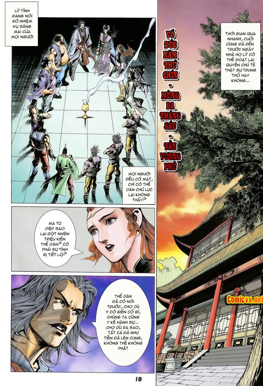 Đại Đường Uy Long chapter 74 trang 18
