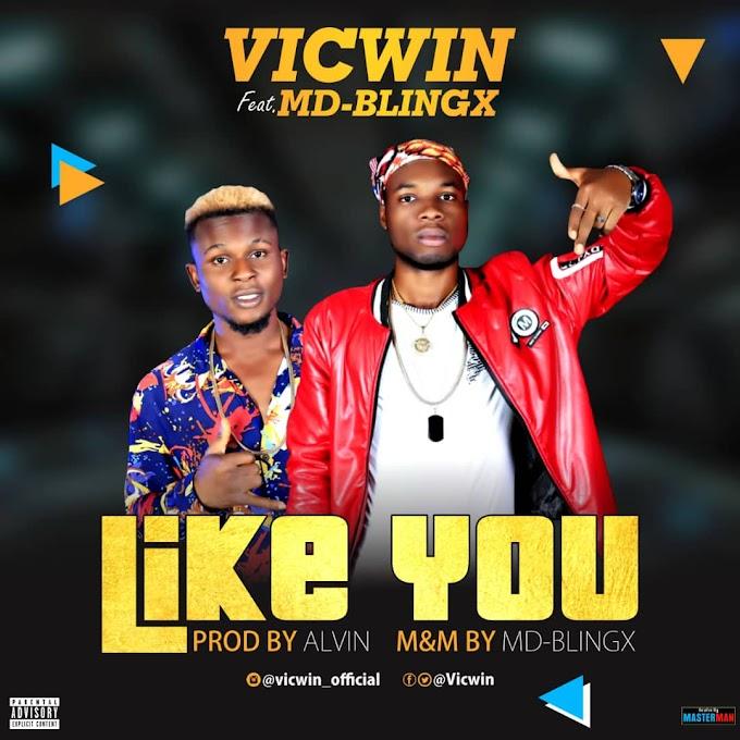 Music ] Vicwin Ft MD-Blingx - Like You