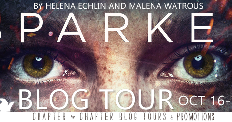 Sparked by Helena Echlin and Malena Watrous #BookReview #BlogTour @chapterxchapter @sparkedbook