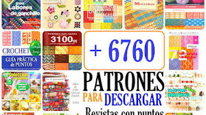 6760 Patrones de Crochet y Dos Agujas / Para descarga gratis