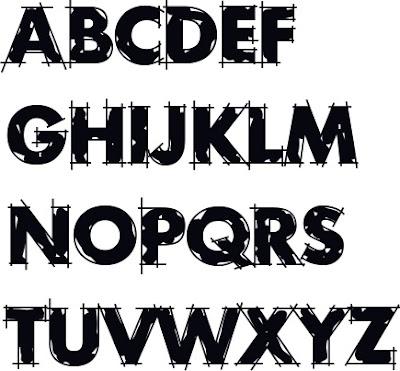 Graffiti Buchstaben A-Z zum ausdrucken, Graffiti Letters graffiti Alphabet