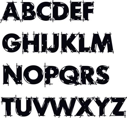 Graffiti Schrift Abc Graffiti Buchstaben A Z Graffiti Schrift