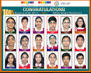 VIBGYOR Group Of Schools scores 100% results in ICSE exams