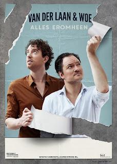Poster Van der Laan en Woe Alles Eromheen