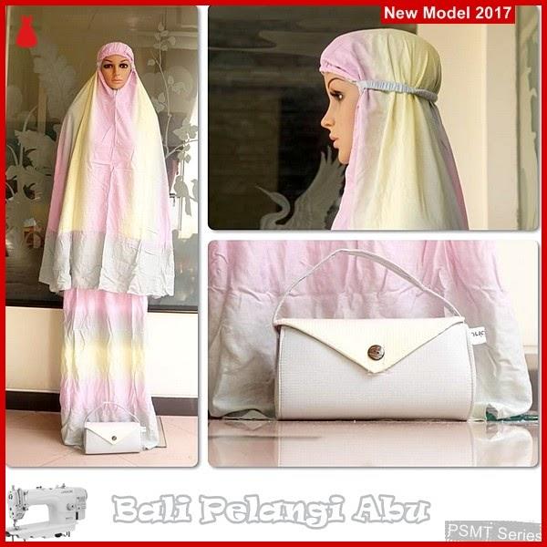 PSMT156A Mukena Bali Pelangi Abu Ashira Cantik BMG