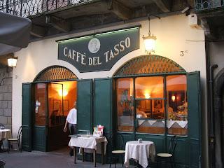 The Caffè del Tasso in Bergamo was renamed in honour of the poet