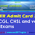 www.sscer.org - SSCER Admit Card 2017 | Latest News