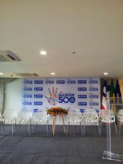 Hoje tem oficina do Plano Salvador 500 no Rio Vermelho.Participe!