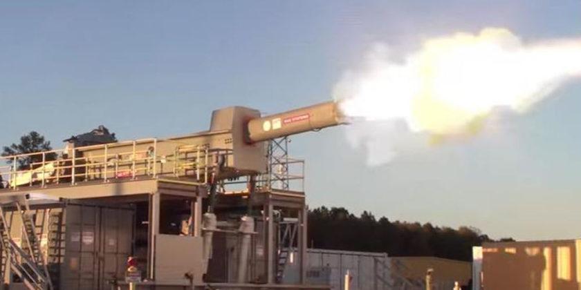 Αναφορές για δοκιμές ηλεκτρομαγνητικού όπλου-railgun σε κινεζικό πολεμικό πλοίο στον Ειρηνικό